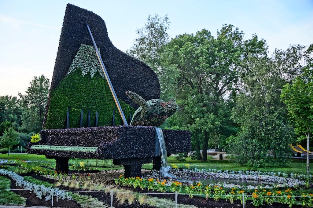 Mosa cultures internationales du jardin botanique de for Botanique jardin montreal