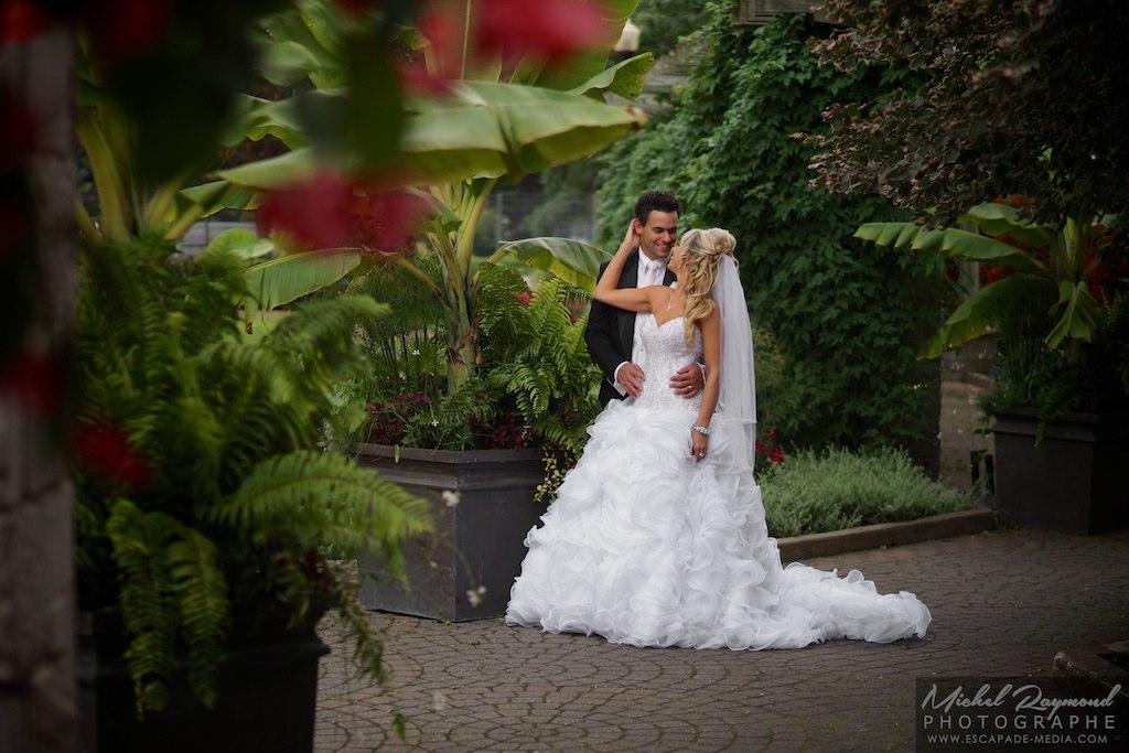 Photographies de mariage au jardin botanique de montr al for Au jardin de fanny montreal