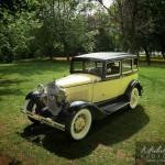 Ford modèle A jaune 1931