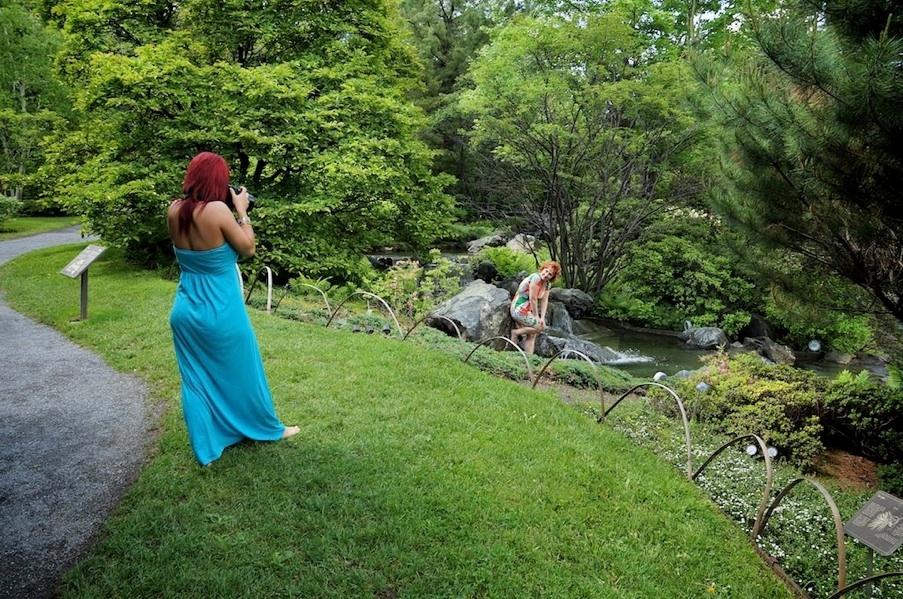 Cour de photo votre domicile archives photographe for Jardin botanique hiver 2015
