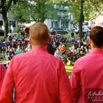 chanteurs Voxapella photo de dos
