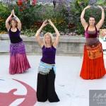 danse orientale à un été show