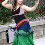 danse baladi à la place publique vieux saint-jean