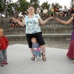 mère et enfant au baladi vieux saint-jean