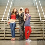 comiccon wonder woman, black canary et chucky
