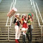 3 jolies personnages bande desinnée comiccon à Montréal