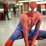 Spiderman au moni comiccon à Montréal