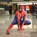 Spiderman à comiccon à Montréal