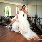 Belle robe de la mariée en Estrie