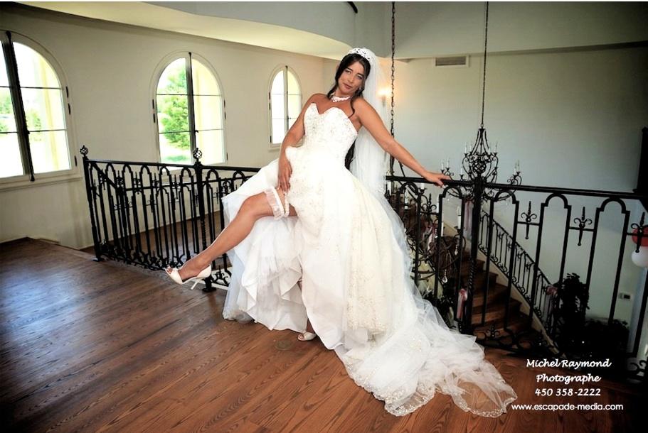 Robe de mariage st jean sur richelieu