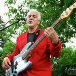 Bassiste des Baby Bommer Band à Chambly