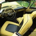 Chryslers Firreflite décapotable De Soto de couleur jaune1957