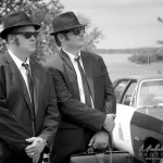 Mission Blues Brothers au ancienne voiture de Chambly