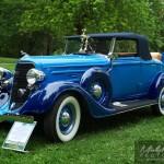 Dodge D.T Canadien Décapotable bleu 1934