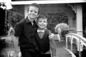 photos enfants noir et blanc