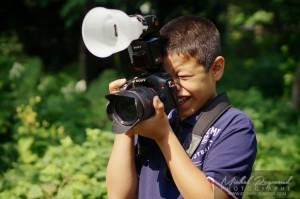 jeune photographe d'un jour