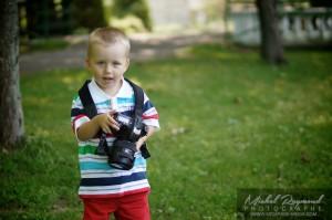 le plus jeune enfant photographe