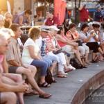 Coucher de soleil à la Place publique Vieux Saint-Jean