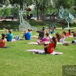 Étirement Yoga