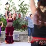 danse orientale dans le vieux saint-jean