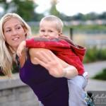 danse orientale avec enfant