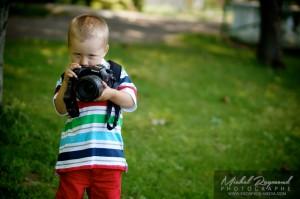 Gabriel 3 ans plus jeune photographe