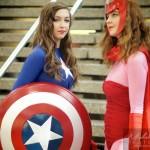 2 joilie femmes au mini-Comiccon de Montréal
