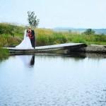 séance photo des mariés en Estrie