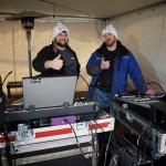 les technicien de son de Laudiom au 350 de saint-jean